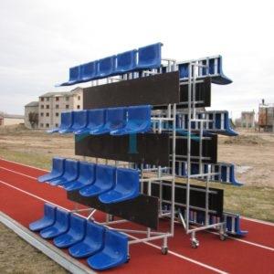 Portable tribunes