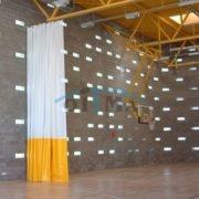Different dividing curtains